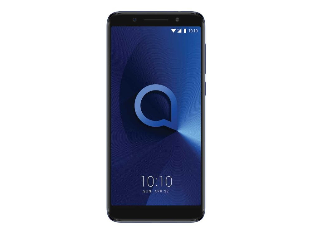 Смартфон Alcatel 3X 5058I (Blue) MediaTek MT6739 (1.3) / 3GB / 32GB / 5.7 (1440x720) / 3G / 4G LTE / 13Mp+5Mp, 5Mp Cam / FPR /Android 7.0 (5058I-2BALRU1)