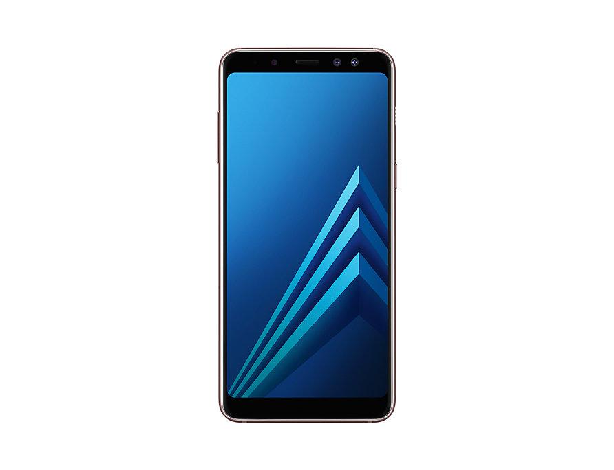 Смартфон Samsung Galaxy A8 (2018) Blue SM-A530F Exynos 7885 (2.2)/4GB/32GB/5.6 2220x1080/16Mp, 16Mp+8Mp/4G LTE/2Sim/Android 7.1 (SM-A530FZDDSER) смартфон samsung galaxy a7 2018 black samsung exynos 7885 octa 2 2 4gb 64gb 6 2220x1080 super amoled 2sim 24mp 8mp 5mp 24mp nfc fpr android 8 0 sm a750fzkuser