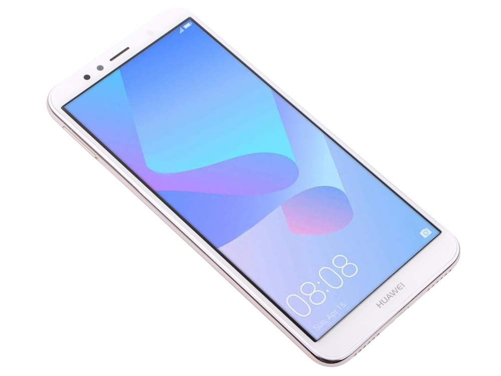 Смартфон Y6 2018 Gold (ATU?L31) Snapdragon 425 (1.4) / 2GB / 16GB / 5.7 1440x720 / 2Sim / 3G / 4G LTE / 13Mp, 5Mp / Android 8.0 смартфон lg k10 2017 gold mediatek mt6750 2gb 16gb 5 3 1280x720 3g 4g 13mp 5mp android 7 0
