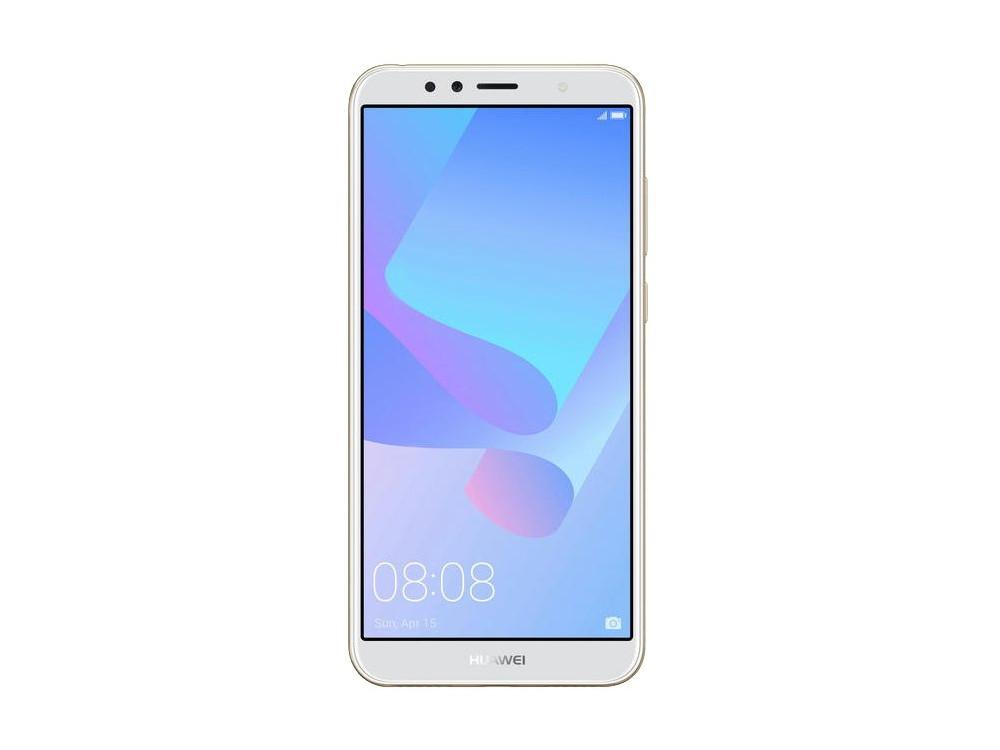 Смартфон Y6 2018 Gold (ATU?L31) Snapdragon 425 (1.4) / 2GB / 16GB / 5.7 1440x720 / 2Sim / 3G / 4G LTE / 13Mp, 5Mp / Android 8.0 смартфон huawei y3 gold
