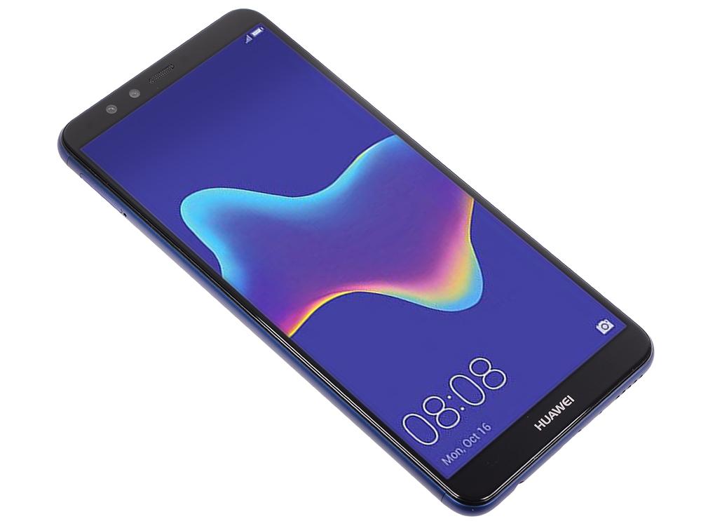 Смартфон Y9 2018 (FLA-LX1) Blue Kirin 659(2.36GHz)/3GB/32GB/5.93 2160x1080/2 Sim/3G/LTE/BT/Wi-Fi/13Mp+2Mp/8Mp+2Mp/GPS/Glonas/Android 8.0 смартфон honor 9 lite lld l31 51092csh blue kirin 659 2 36ghz 3gb 32gb 5 65 2160x1080 2 sim 3g lte bt wi fi gps glonas android 8 0