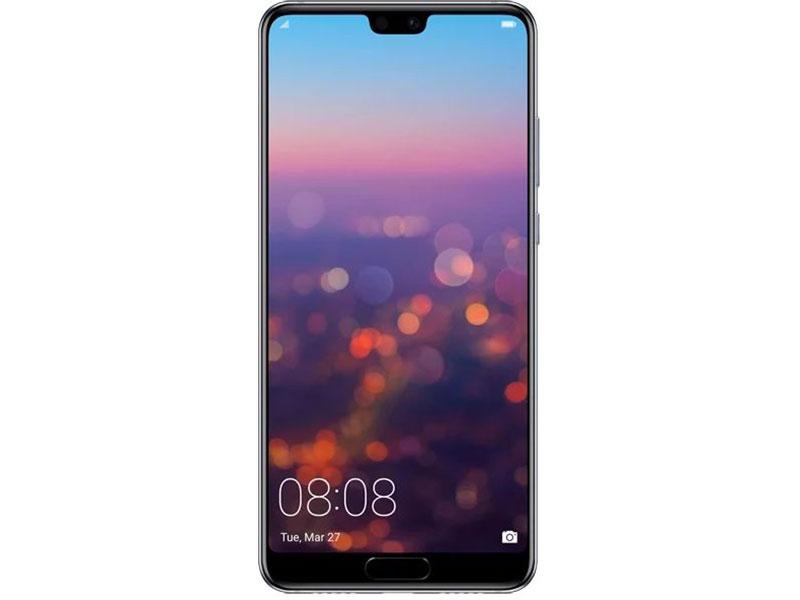 Смартфон Huawei P20 Blue (Emily-L29) HiSilicon Kirin 970 (2.4)/128 Gb/4 Gb/5.8 (2244x1080)/3G/4G/BT/Android 8.1 смартфон huawei p10 64gb lte blue vtr l29