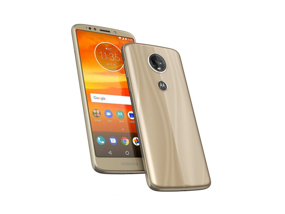 Смартфон Motorola MOTO E5 Plus (XT1924-1) Qualcomm MSM8917 (1.4) / 3GB / 32GB / 5.99 HD+ IPS / 3G / 4G LTE / 12MP, 5 MP / FPR / Android 8.0 (Fine Gold) vernee thor 4g lte 5 0inch hd android 6 0 3gb 16gb smartphone