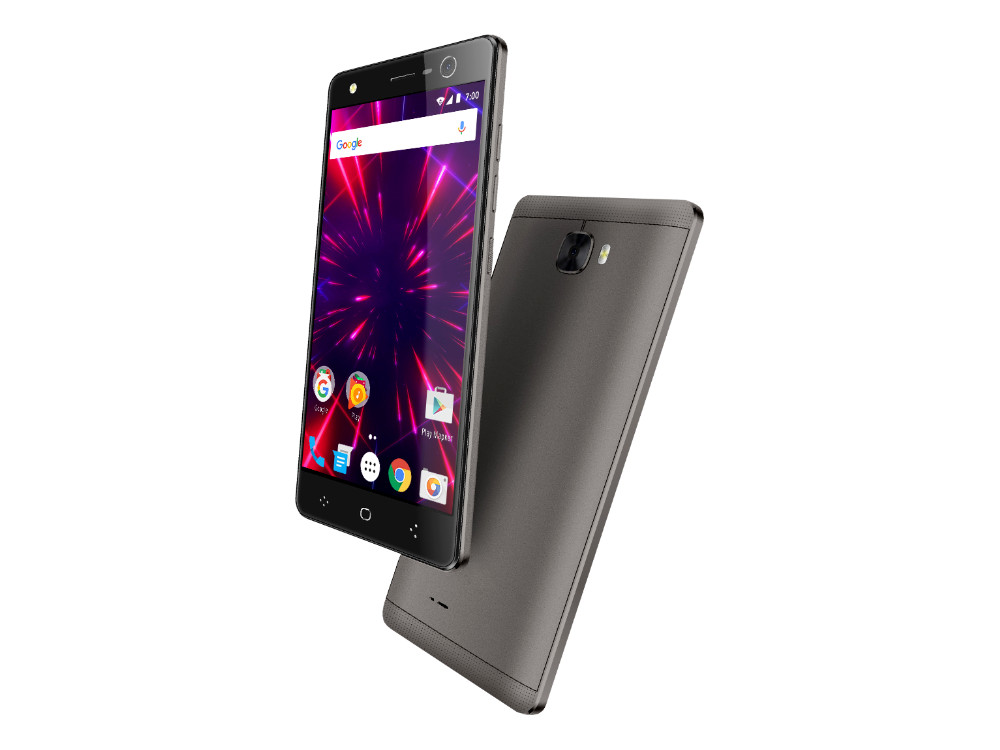 Смартфон Vertex Impress Disco 4G (Grafit) MediaTek MT6737 (1.3) / 1GB / 8GB / 5.2 1280x720 IPS / 2 Sim / 3G / 4G LTE / GPS / 13Mp, 13Mp / Android 7.0 (VDDSC-GRF) планшетный пк 10 1 ainol ax10 4g lte ips 1280 800 mtk mt8732 64 bit 1gb 8gb android 4 4 tdd hdmi 5 0mp gps