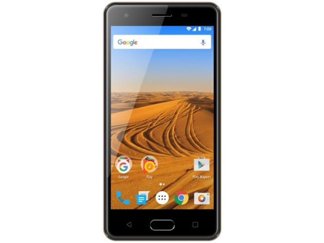 Смартфон Vertex Impress Dune 4G Gold MediaTek MT6737/1GB/8GB/5 1280x720/8Mpix+5Mpix/2 Sim/3G/LTE/BT/Wi-Fi/GPS/Android 7.0 смартфон vertex impress play черный 5 5 32 гб lte wi fi gps 3g vrx vpl blk
