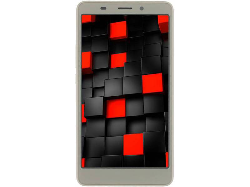 Смартфон Vertex Impress Lagune 4G Gold MediaTek MT6737/3GB/32GB/5 1280x720/13Mpix+5Mpix/2 Sim/3G/LTE/BT/Wi-Fi/GPS/Android 7.0 smartch h1 smart watch android 5 1 os smartwatch 512mb 4gb rom gps sim 3g heart rate monitor camera waterproof sports wristwatch