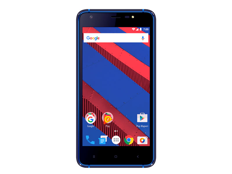 Смартфон Vertex Impress Spring 4G Blue Spreadtrum SC9832/1GB/8GB/5 1280x720/5Mpix+2Mpix/2 Sim/3G/LTE/BT/Wi-Fi/GPS/Android 7.0 смартфон vertex impress tor tor blor snapdragon 210 1 1 1gb 8gb 5 1280x720 ips 2sim 4g lte ip68 android 7 1 black orange