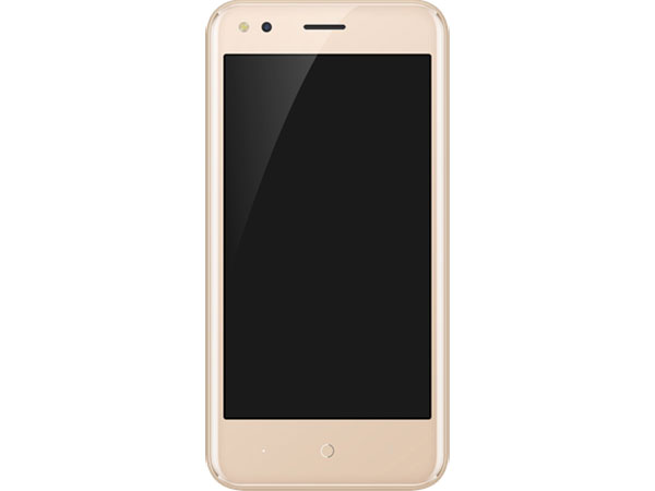Смартфон Micromax Q437 Gold MediaTek MT6737/1GB/8GB/4.5 854x480/2 Sim/3G/4G/5Mp+5Mp/BT/Wi-Fi/GPS/2000mAh/Android 7.0 смартфон micromax q4260 canvas juice a1 plus 4g 16gb champagne