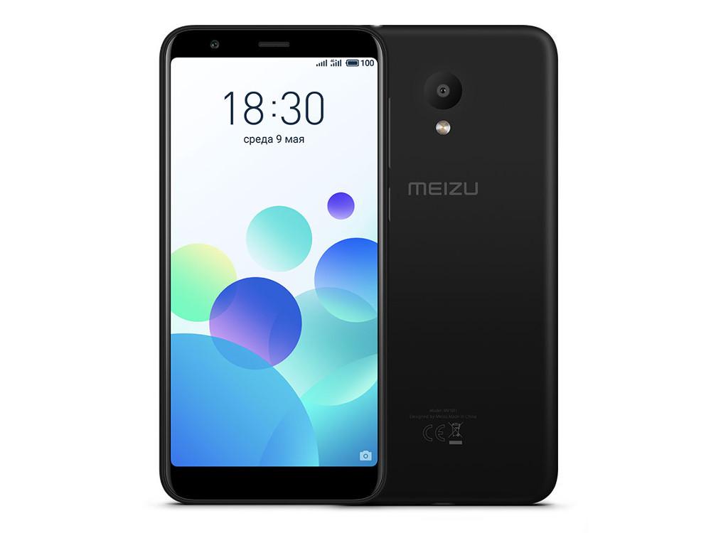 Смартфон Meizu M8c Black (M810H-16-BK) Snapdragon 425 (1.4) / 2GB / 16GB / 5.45'' 1440x720 / 2Sim / 4G LTE / GPS / Glonass / 13Mp, 8Mp / Android 7.0
