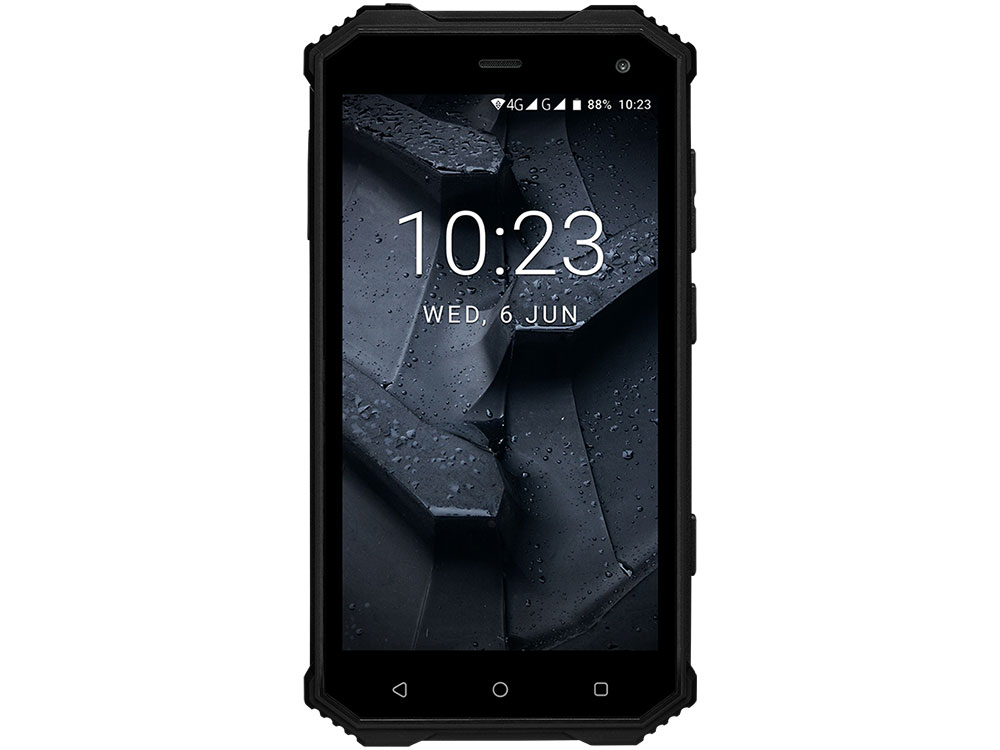 Смартфон Prestigio Muze G7 LTE (PSP7550DUO) Dual SIM/5.0HD (1280*720) IPS/Quad-Core 1.25GHz/2G/16G/2.0MPt+13.0MP/Android 7.0 Nougat Black no 1 g7 2g smart watch phone tpu strap silver