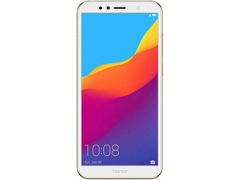 Смартфон HONOR 7A Pro 16Gb Gold Snapdragon 430(1.4GHz)/2GB/16GB/5.7 1440x720/2 Sim/3G/LTE/BT/Wi-Fi/13Mp/8Mp/GPS/Glonas/Android 8.0 original x92 2gb 3gb 16gb 32gb android 6 0 smart tv box amlogic s912 octa core cpu 5g wifi 4k h265 android tv box pk h96 pro x96