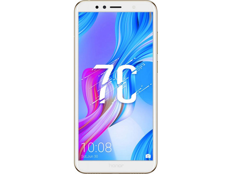 Смартфон HONOR 7С Gold Snapdragon 430(1.4GHz)/3GB/32GB/5.7 1440x720/2 Sim/3G/LTE/BT/Wi-Fi/13Mp+2Mp/8Mp/GPS/Glonas/Android 8.0 смартфон alcatel 5 5086d metallic gold mediatek mt6750 3gb 32gb 5 7 1440x720 2 sim 3g lte bt 12mp 13mp 5mp wi fi gps glonas android 7 0