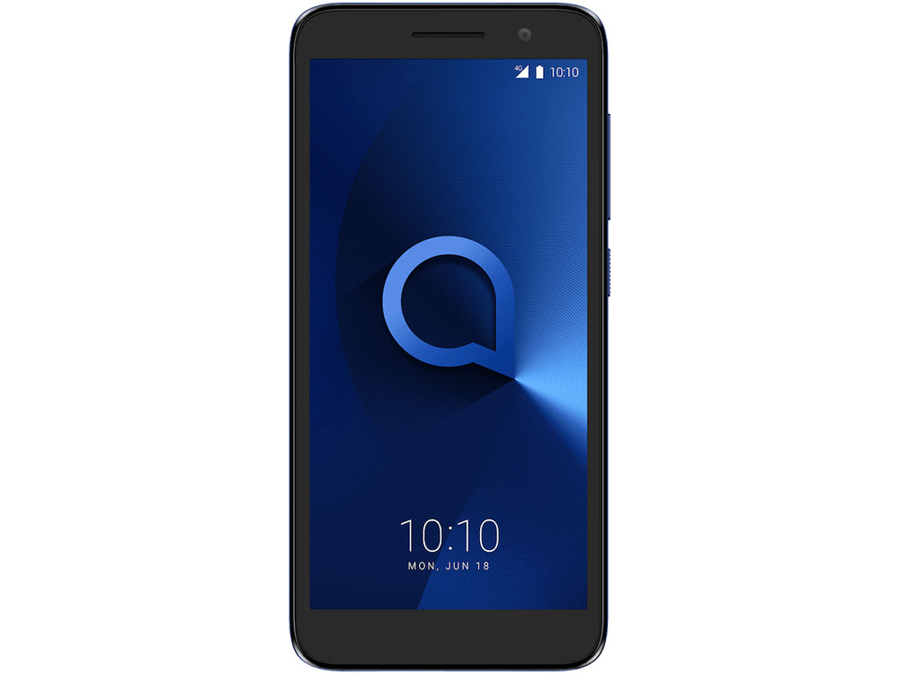 Смартфон Alcatel 1 5033D Metalic Blue MediaTek MT6739 (1.3)/8 Gb/1 Gb/5 (960x480)/DualSim/3G/4G/BT/Android 8.1 смартфон bqs 5050 strike selfie grey mediatek mt6580 1 3 8 gb 1 gb 5 1280x720 dualsim 3g bt android 6 0