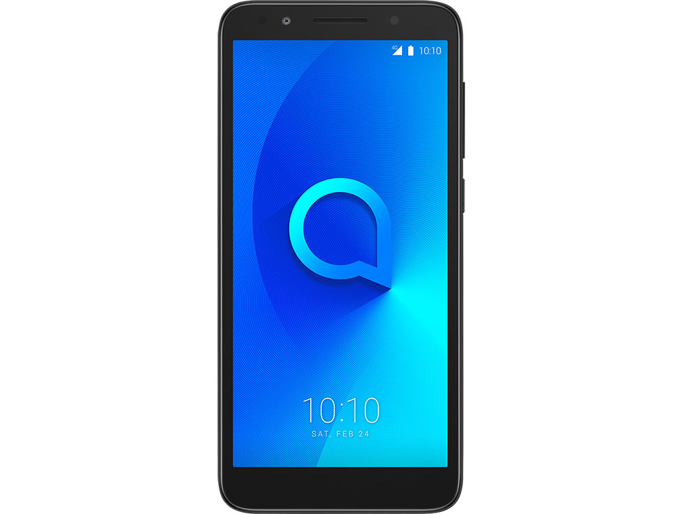Смартфон Alcatel 1X (5059D) Black/Dark Grey MT6739 2Gb/16Gb/5.3 (960x480)/13+5Mp/4G/Android 8.0 alcatel one touch 6039y idol 3 mini grey