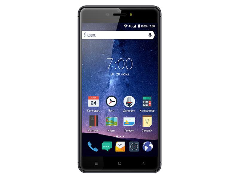 Смартфон Vertex Impress Lux (4G) Titan MediaTek MT6737 (1.3) / 2GB / 16GB / 5.5 1920x1080 IPS / 2Sim / 4G LTE / BT / 13Mp, 5Mp / Android 6.0 смартфон bq bq 5510 strike power max 4g золотистый mediatek mt6737 1гб 8 гб 5 5 1280x720 13mpix dualsim 3g 4g bt android 7 0