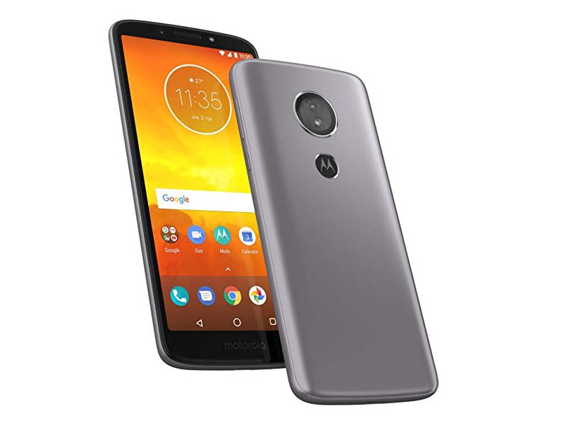 Смартфон Motorola MOTO E5 (XT1944-2) Qualcomm MSM8917 (1.4) / 2GB / 16GB / 5.7 HD+ IPS / 3G / 4G LTE / 13MP, 5MP / FPR / Android 8.0 (Flash Grey) new 2 fold folio pu leather stand cover case for onda v10 3g 4g call phone 10 1inch tablet pc black and white color gift