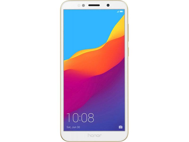 Смартфон HONOR 7A (51092MUV) (Gold) MediaTek MT6739 (1.3) / 2GB / 16GB / 5.45 1440x720 TFT / 2Sim / LTE / 13Mp, 5Mp / Android 8.1