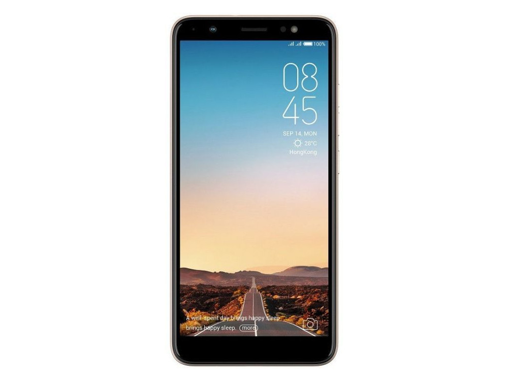 Смартфон Tecno CA7 (CA7-CHGL) MediaTek Helio P23 (2.0) / 3GB / 32GB / 6 1440x720 IPS / 3G / 4G LTE / GPS / 13Mp, 20Mp / Android 8.1 (Champagne Gold) vivo xplay3s x520a 6 quad core android 4 3 4g mobile phone w 32gb rom 3gb ram gps wifi white