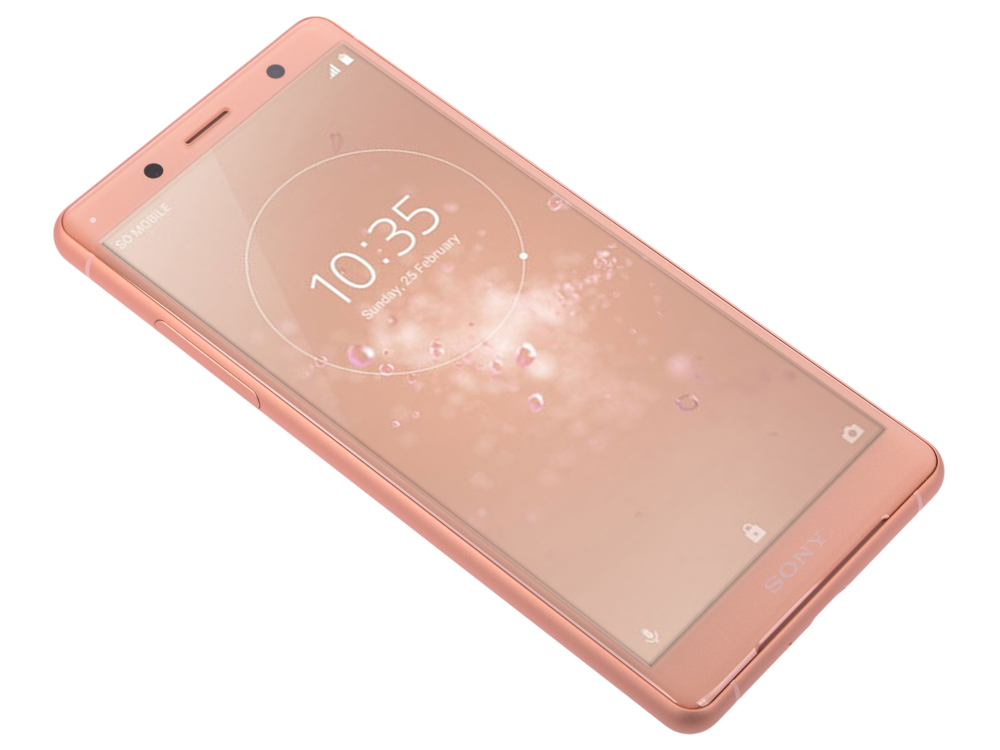 Смартфон Sony Xperia XZ2 Compact (H8324) Coral Pink Qualcomm Snapdragon 845/4Гб/64 Гб/5 (2160x1080)/3G/4G/BT/Android 8.0