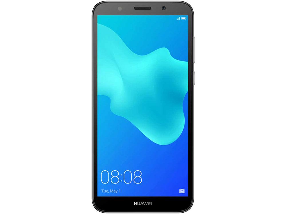 Смартфон Huawei Y5 2018 Prime (DRA-LX2) Black MediaTek MT6739 (1.3)/16 Gb/2 Gb/5.45 (1440x720)/DualSim/3G/4G/BT/Android 8.1 смартфон bq bq 5510 strike power max 4g золотистый mediatek mt6737 1гб 8 гб 5 5 1280x720 13mpix dualsim 3g 4g bt android 7 0