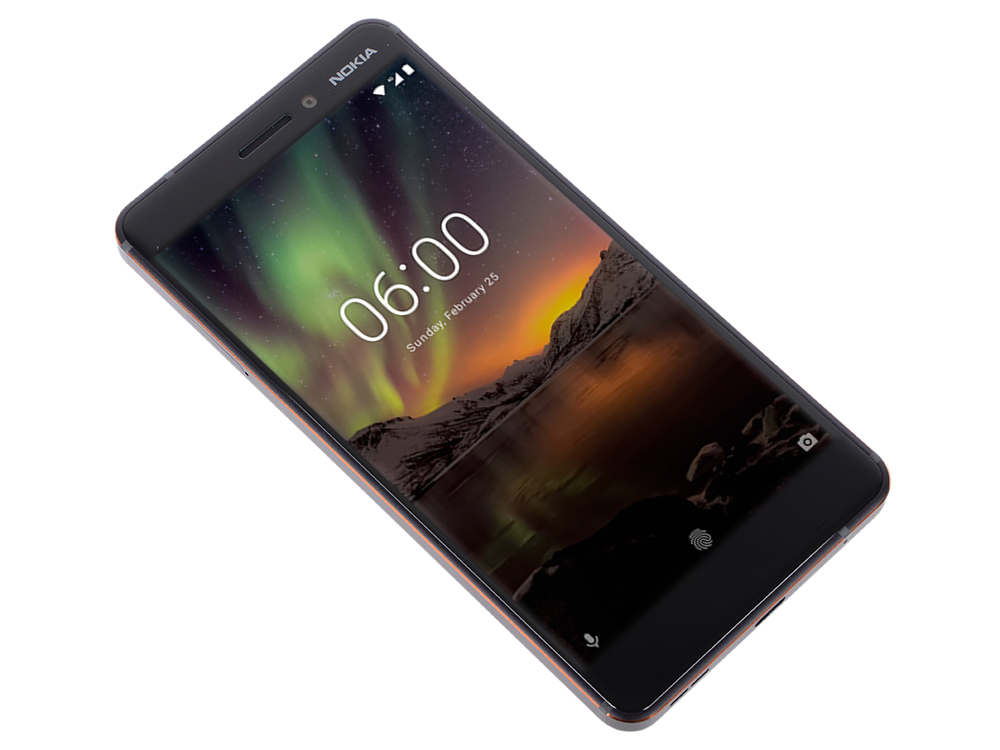 Смартфон Nokia 6.1 DS Black Qualcomm Snapdragon 630 (2.2)/32 Gb/3 Gb/5.5 (1920x1080)/DualSim/3G/4G/BT/Android 8.0 смартфон xiaomi redmi note 6 pro black qualcomm snapdragon 636 1 8 32 gb 3 gb 6 26 2280x1080 dualsim 3g 4g bt android 8 1