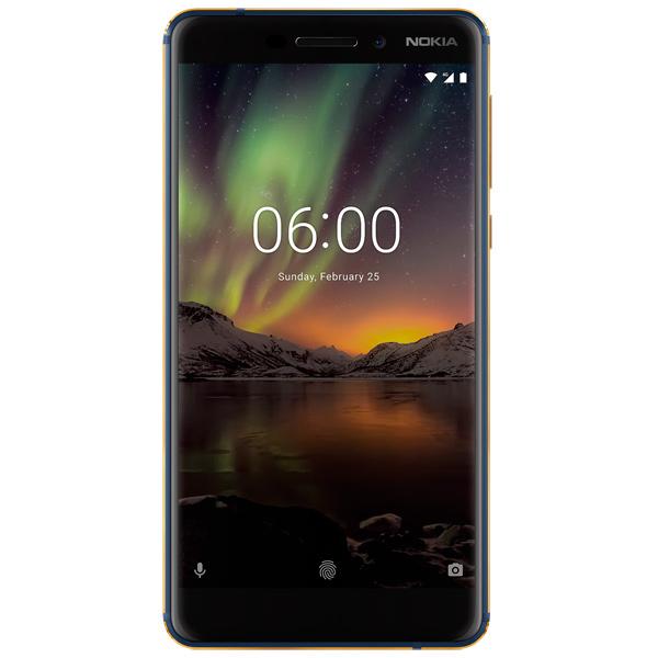 Смартфон Nokia 6.1 DS Blue Qualcomm Snapdragon 630 (2.2)/32 Gb/3 Gb/5.5 (1920x1080)/DualSim/3G/4G/BT/Android 8.0 смартфон xiaomi redmi note 6 pro blue qualcomm snapdragon 636 1 8 32 gb 3 gb 6 26 2280x1080 dualsim 3g 4g bt android 8 1