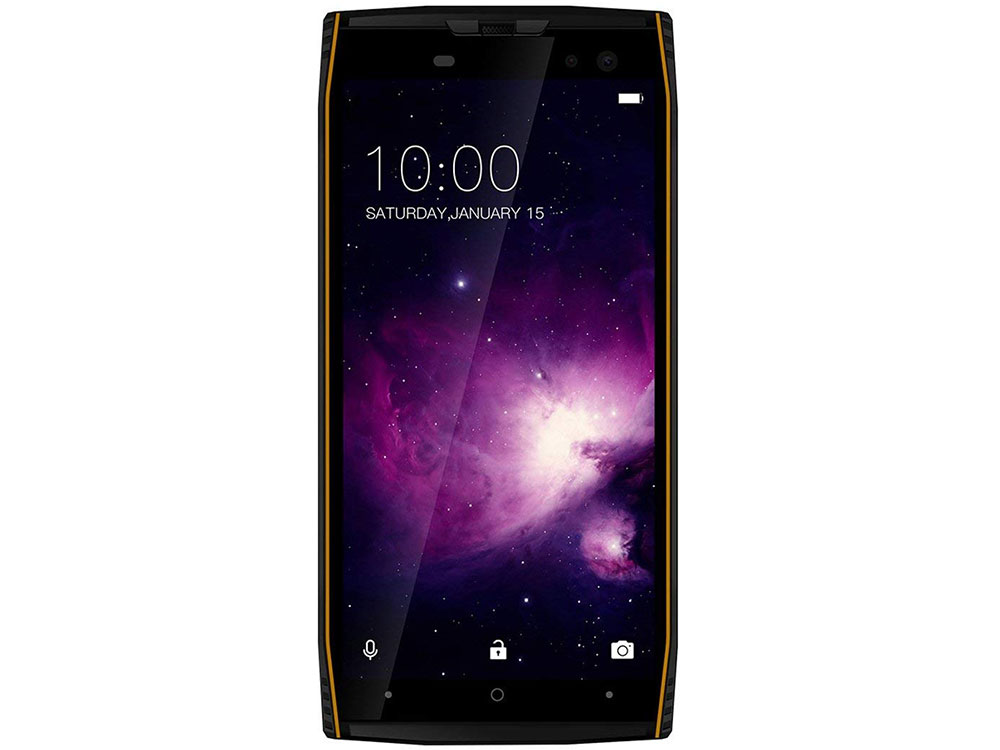 Смартфон Doogee S50 Black/Orange 5.7'' 18:9 1440x720/2.3GHz+1.6GHz/6GB/64GB/16Mp+13Mp/16Mp+8Mp/LTE/Android 7.1 360 n5s смартфон 6gb 64gb черный