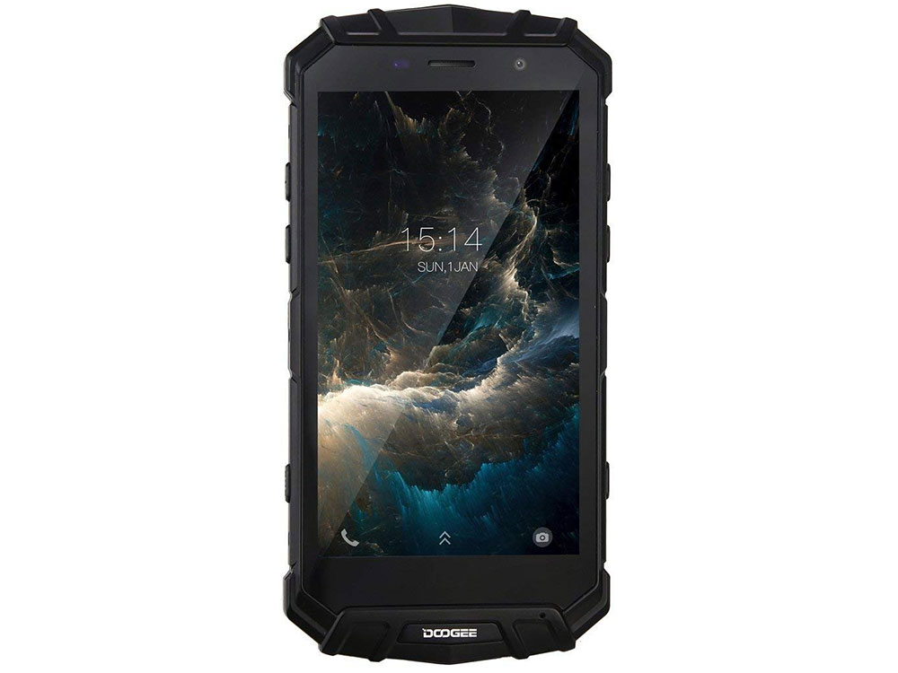 Смартфон Doogee S60 Black 5.2'' 1920x1080/2.6GHz/6GB/64GB/21Mp/8Mp/LTE/NFC/Android 7.0 360 n5s смартфон 6gb 64gb черный