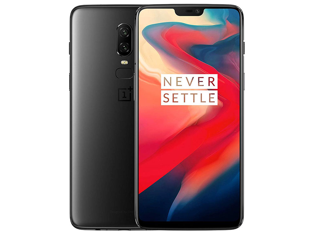 Смартфон OnePlus A6003 OnePlus6 Midnight Black Qualcomm Snapdragon 845 (2.8)/128 Gb/8 Gb/6.28 (2280x1080)/DualSim/3G/4G/BT/Android 8.1 смартфон neffos y5l tp801a31ru sunny yellow qualcomm snapdragon 210 1 1 8 gb 1 gb 4 5 854x480 dualsim 3g bt android 6 0