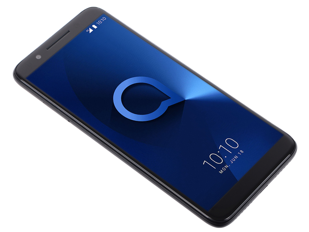 Смартфон Alcatel 3L 5034D Metalic Black MediaTek MT6739/16 Gb/2 Gb/5.5 (1440x720)/DualSim/3G/4G/BT/Android 8.0 смартфон alcatel u5 3g 4047d black gray