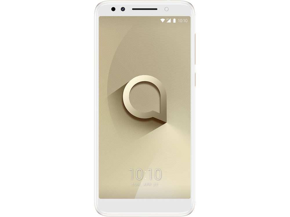 Смартфон Alcatel 3X 5058I Metallic Gold MediaTek MT6739/32 Gb/3 Gb/5.7