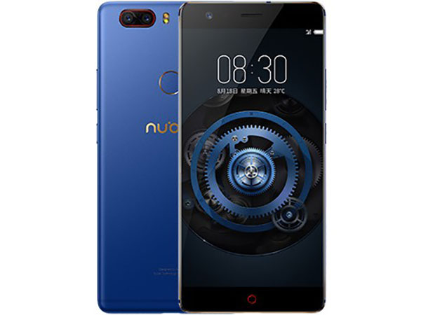 Смартфон Nubia Z17 Lite Blue/Gold Qualcomm Snapdragon 653 (1.95)/64 Gb/8 Gb/5.5 (1920x1080)/DualSim/3G/4G/BT/Android 7.1 смартфон neffos y5l tp801a31ru sunny yellow qualcomm snapdragon 210 1 1 8 gb 1 gb 4 5 854x480 dualsim 3g bt android 6 0