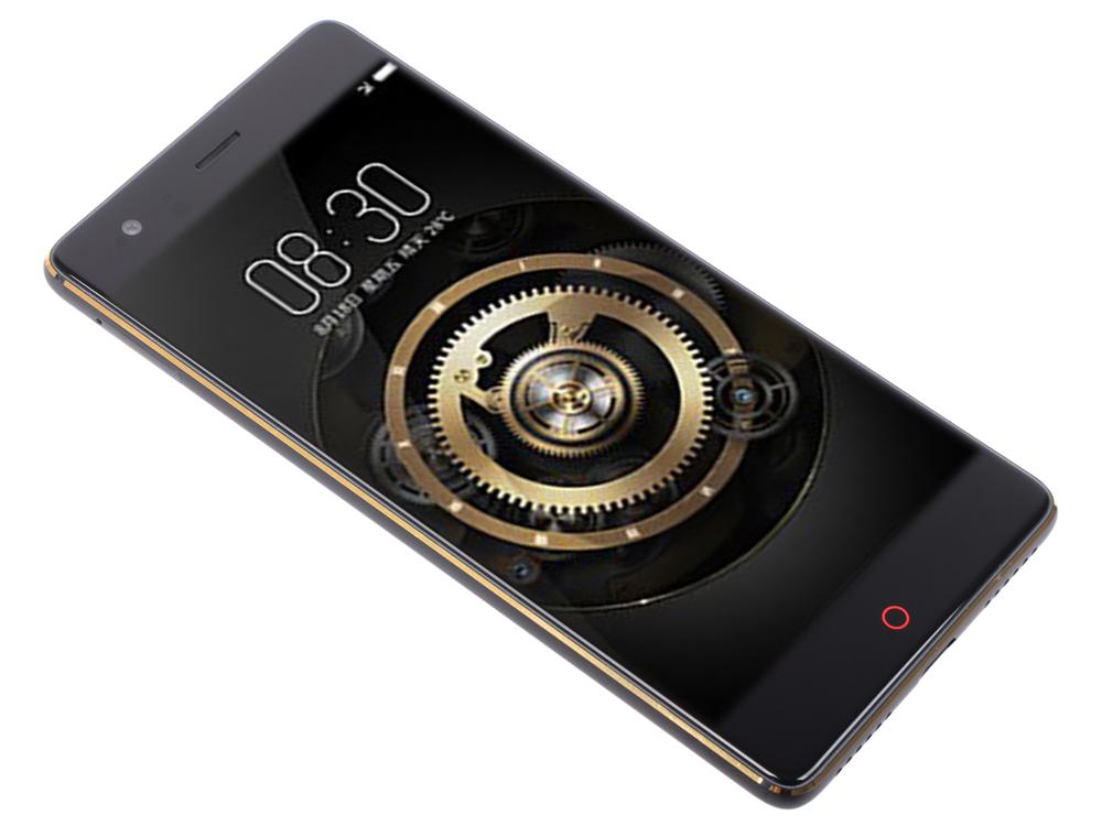 Смартфон Nubia Z17 Lite Black/Gold Qualcomm Snapdragon 653 (1.95)/64 Gb/6 Gb/5.5 (1920x1080)/DualSim/3G/4G/BT/Android 7.1
