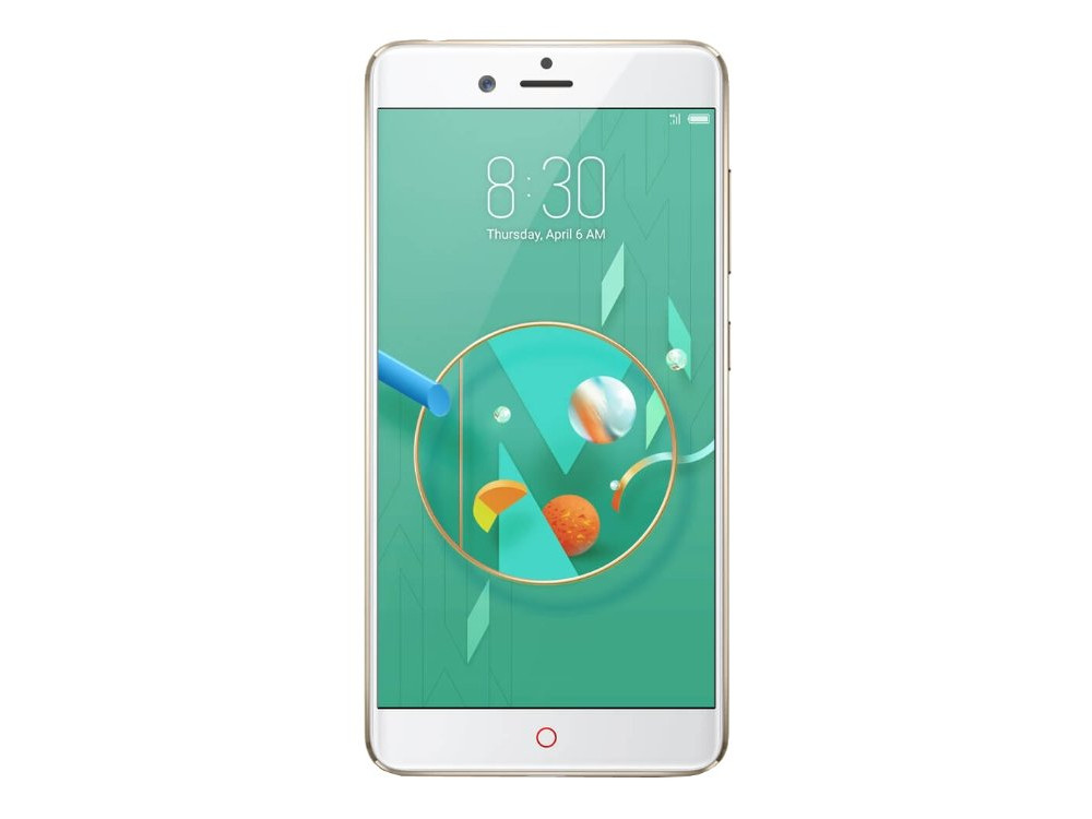 Смартфон ZTE Nubia Z17 Mini (Gold) Snapdragon 652 (1.8) / 4GB / 64GB / 5.2 1080x1920 LTPS / 2Sim / 4G / 13Mp+13Mp, 16Mp / Android 6.0 смартфон zte blade v9 4 64 blue qualcomm snapdragon 450 1 8 4gb 64gb 5 7 2160x1080 ips 16mp 5mp 13mp 2sim 3g 4g android 8 1