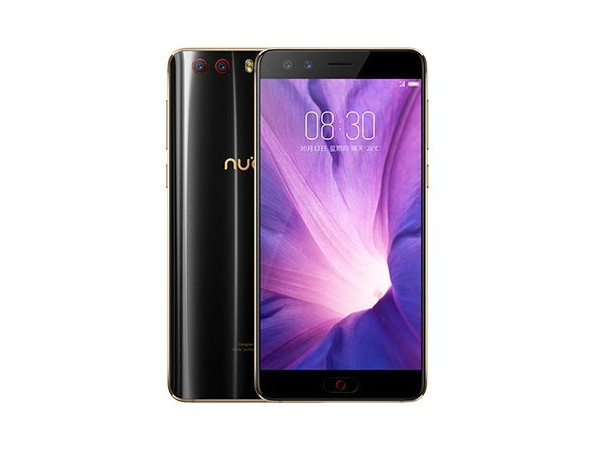Смартфон ZTE Nubia Z17 MiniS (Black/Golden) Snapdragon 653 (1.95) / 6GB / 64GB / 5.2 1080x1920 / 2Sim / 4G / 13Mp+13Mp, 16Mp+5Mp / Android 7.0 смартфон zte blade v9 4 64 blue qualcomm snapdragon 450 1 8 4gb 64gb 5 7 2160x1080 ips 16mp 5mp 13mp 2sim 3g 4g android 8 1