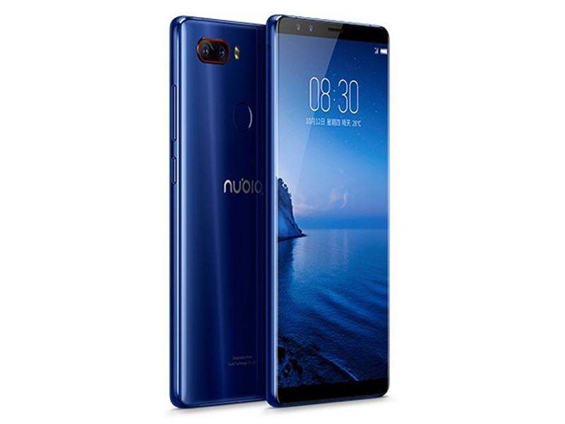 Смартфон ZTE Nubia Z17S (Blue) Snapdragon 835 (2.45) / 8GB / 128GB / 5.2 2040x1920 / 2Sim / 4G / 12Mp+23Mp, 5Mp+5Mp / Android 7.1