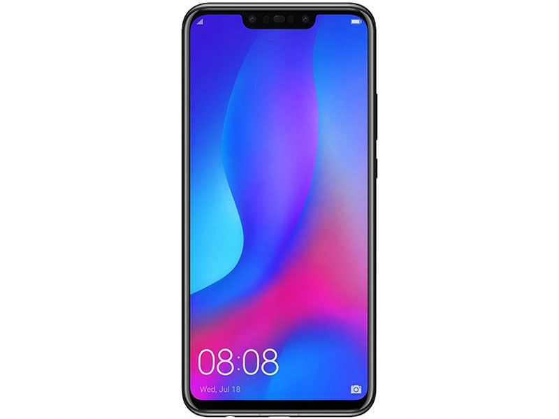Смартфон Huawei Nova 3 (PAR-LX1) Black HiSilicon Kirin 970 (2.4)/128 Gb/4 Gb/6.3 (2340x1080)/3G/4G/BT/Android 8.1 oukitel k7000 5 0 inch 4g quad core android smart phone