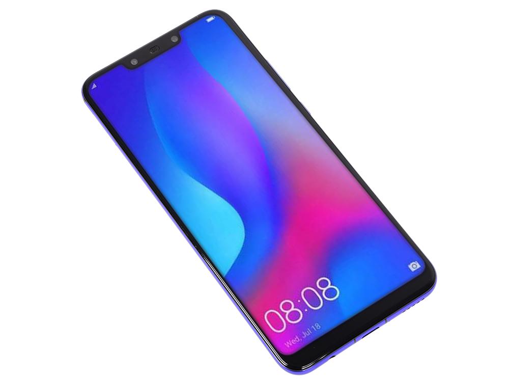 Смартфон Huawei Nova 3 (Purple) HiSilicon Kirin 970 (2.4) / 128 GB / 4 GB / 6.3