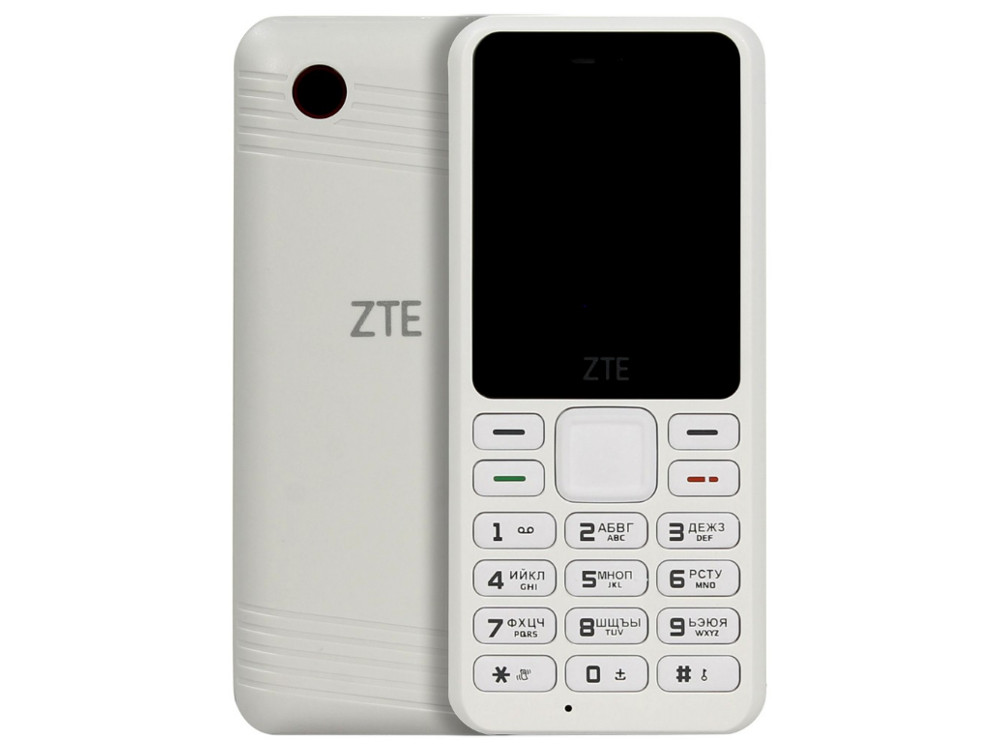 Мобильный телефон ZTE R538 (2G) белый jigu laptop battery ap11d3f ap11d4f for acer aspire s3 s3 351 s3 951 s3 371 ms2346 series