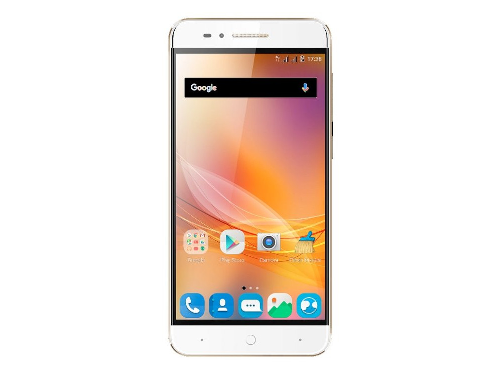 Смартфон ZTE Blade A310 Gold (BLADE.A610.GD) Quad-Core (1.3) / 2GB / 16GB / 5 1280x720 / 2Sim / 3G / 4G LTE / BT / GPS / 13Mp, 5 Mp / Android 6.0 смартфон lg k10 2017 gold mediatek mt6750 2gb 16gb 5 3 1280x720 3g 4g 13mp 5mp android 7 0