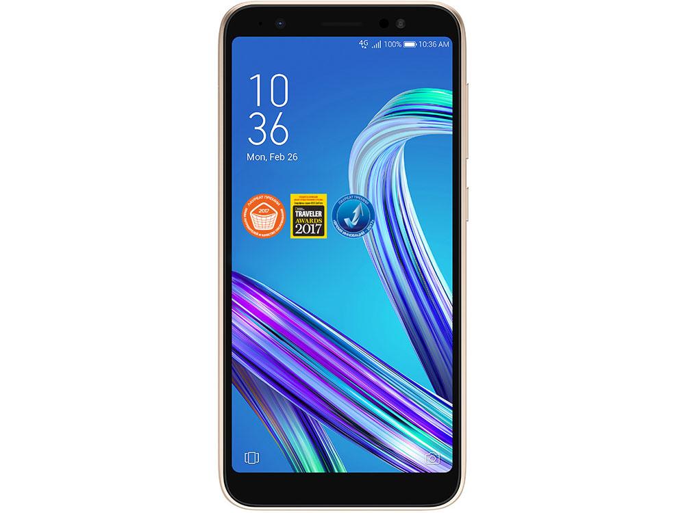Смартфон Asus ZenFone Live L1 (ZA550KL/Gold) Qualcomm Snapdragon 425 (1.4) / 2GB / 16GB / 5.5