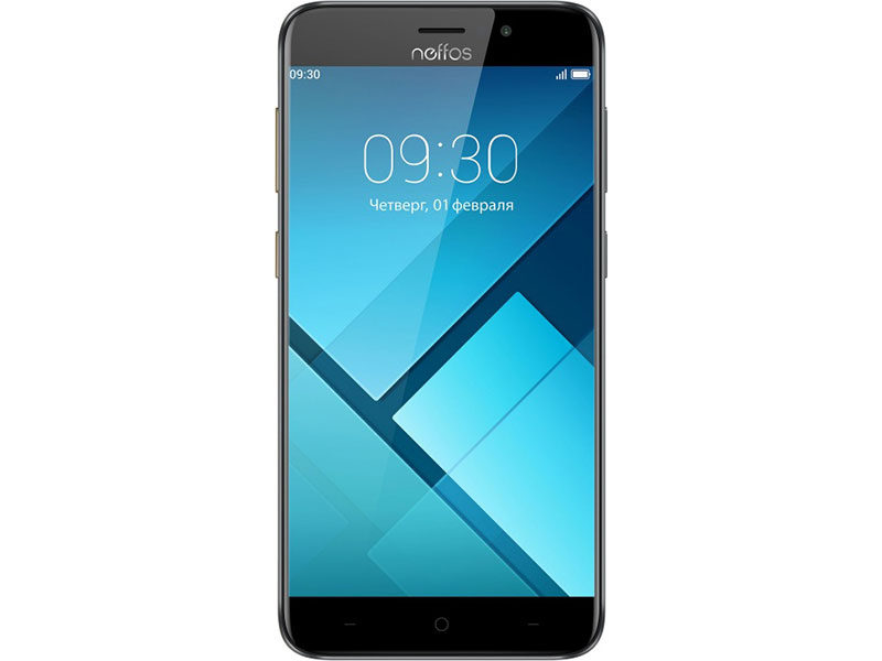 Смартфон Neffos C7 Cloudy Grey (TP910A24RU) MediaTek MT6750 (1.3)/16 Gb/2 Gb/5.5 (1280x720)/DualSim/3G/4G/BT/Android 7.0 oukitel k7000 5 0 inch 4g quad core android smart phone