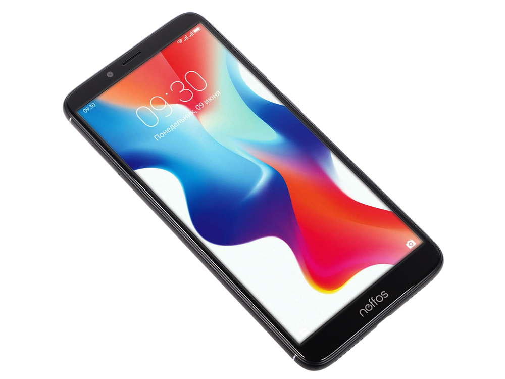 Смартфон Neffos X9 TP913A56RU Space Black MediaTek MT6750 (1.5)/32 Gb/3 Gb/5.99 HD+/DualSim//3G/4G/BT/Android 8.1 смартфон lg k430ds k10 lgk430ds aciswh white mediatek mt6753 1 3 16 gb 1 5 gb 5 3 1280x720 dualsim 3g 4g bt android 6 0