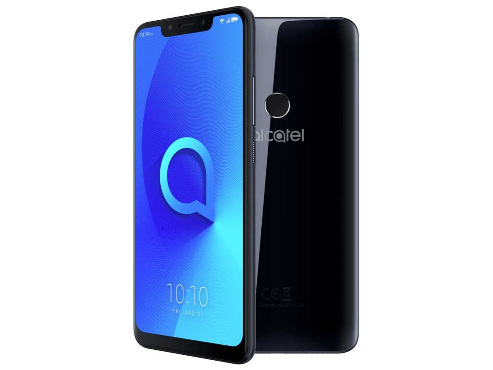 Смартфон Alcatel 5V 5060D (Spectrum Black) MediaTek Helio P22 (2.0) / 3GB / 32GB / 6.2 1500x720 IPS / 12Mp+2Mp, 8Mp / 2Sim / 3G / LTE / Android 8.1 смартфон nokia 5 1 plus ds ta 1105 black mediatek mt6771 5 8 1520x720 3g 4g 3gb 32gb 13mp 5mp 8mp android 8 0