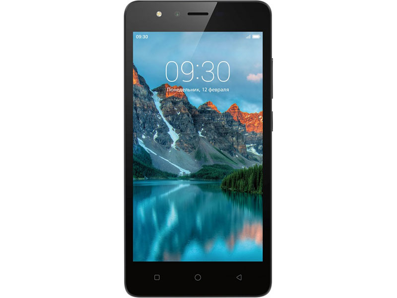 Смартфон Neffos C5A (TP703A21RU) Dark Grey 4 Core 1.3GHz/1GB/8GB/5''854x480/5Mp/2Mp/2 Sim/3G/BT/GPS/Android 7.0 смартфон micromax q346 lite coffee 4 5 854x480 fm радио bluetooth wi fi 3g android 5 1 1700 ма ч