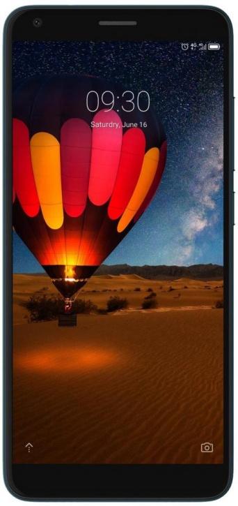 Смартфон ZTE Blade V9 (2+16) VITA Blue Qualcomm Snapdragon 435 (1.4)/2GB/16GB/5.45 (1440x720)/13Mp+2Mp/8Mp/3G/4G/Android 8.1 смартфон zte blade a465 4g black