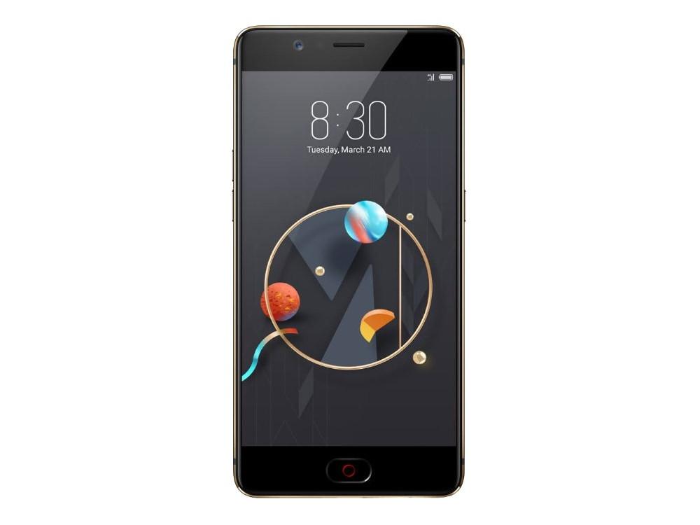 Смартфон Nubia M2 64Gb 4Gb черный/золотистый 3G 4G 2Sim 5.5 AMOLED 1080x1920 Android M 13Mpix 802.1 смартфон