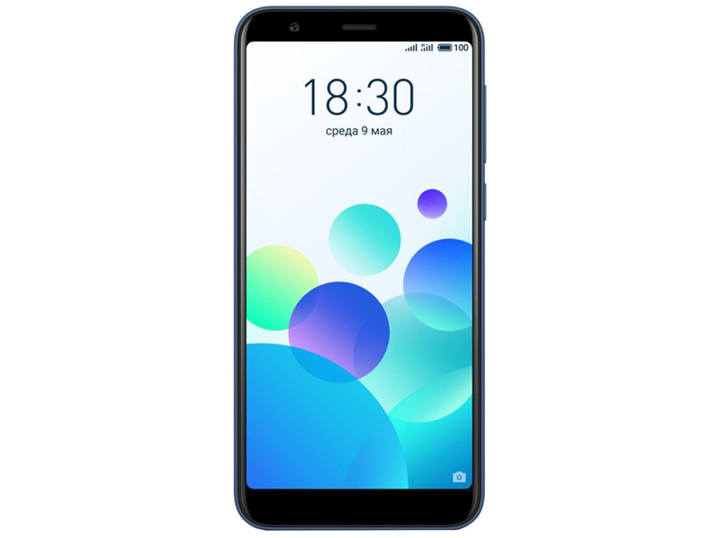 Смартфон Meizu M8c Blue (M810H-16-BL) Snapdragon 425 (1.4) / 2GB / 16GB / 5.45'' 1440x720 / 2Sim / 4G LTE / GPS / Glonass / 13Mp, 8Mp / Android 7.0 смартфон fly fs518 cirrus 13 4g 16gb midnight blue