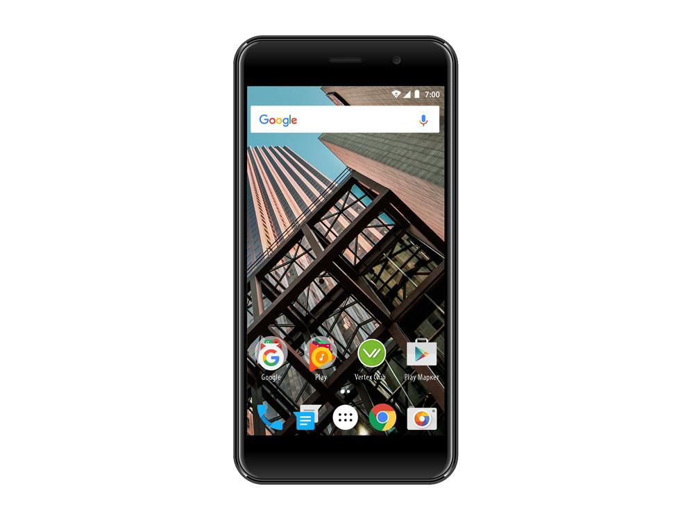 Смартфон Vertex Impress Bear (VBR-GRT) Spreadtrum SC9832 (1.3) / 1GB / 8GB / 5.0 1280x720 IPS / 2Sim / 3G / 4G LTE / 8Mp, 5Mp / Android 7.0 (Graphite)