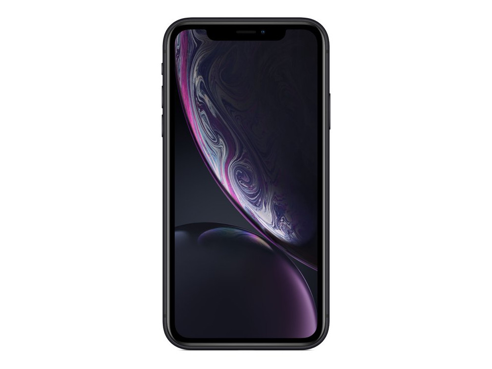 Смартфон Apple iPhone XR 64GB Black (MRY42RU/A) Apple A12 Bionic / 3GB / 64GB / 6.1 1792x828 Retina IPS / 12Mp, 7Mp / 3G / 4G LTE / iOS смартфон apple iphone x 64gb silver mqad2ru a apple a11 3 gb 64 gb 5 8 2436x1125 12 12mpix 3g 4g bt ios 11